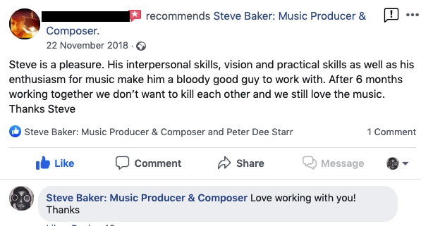 Music Producer Brighton review